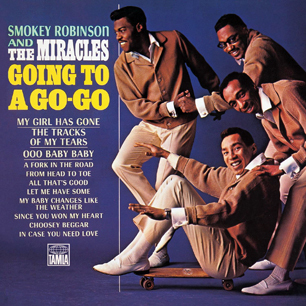 Smokey Robinson and the MiraclesGoing to a Go-GoHIGH RESOLUTION COVER ART