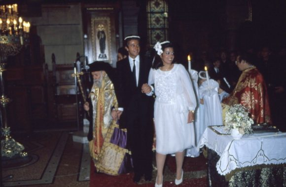 Orthodox Wedding For Christina Onassis And Thierry Roussel